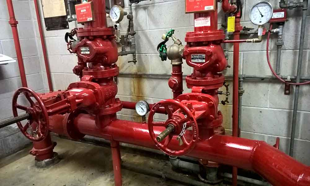 Essnetila Services fire Sprinkler system