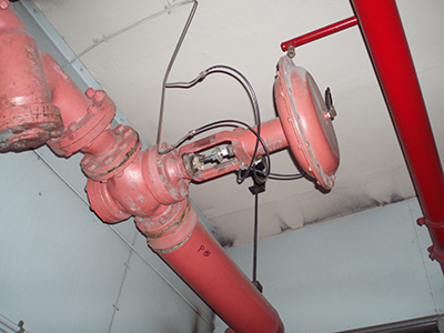 old pneumatic heating hot water control valve