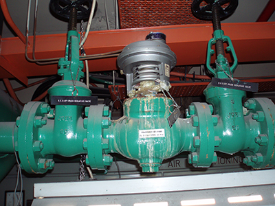 Building Controls Audits pneumatic condenser-water-valve