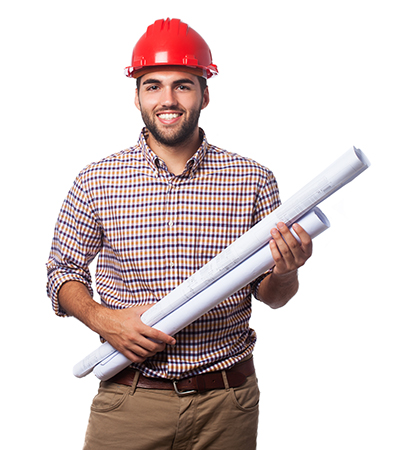 Project manager with Schematics drawings