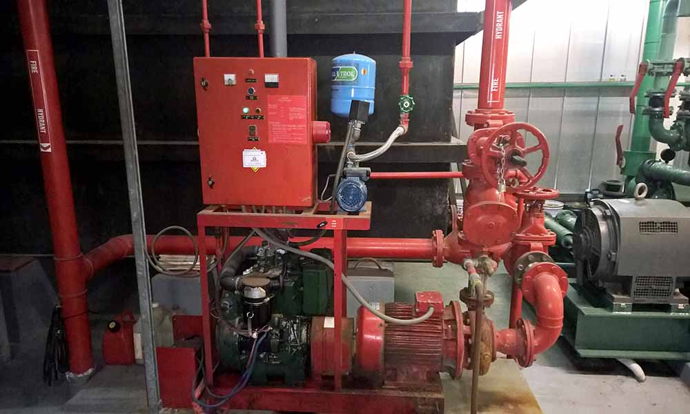 Essential Bulding Services including Fire Systems and their support systems need to be properly maintained