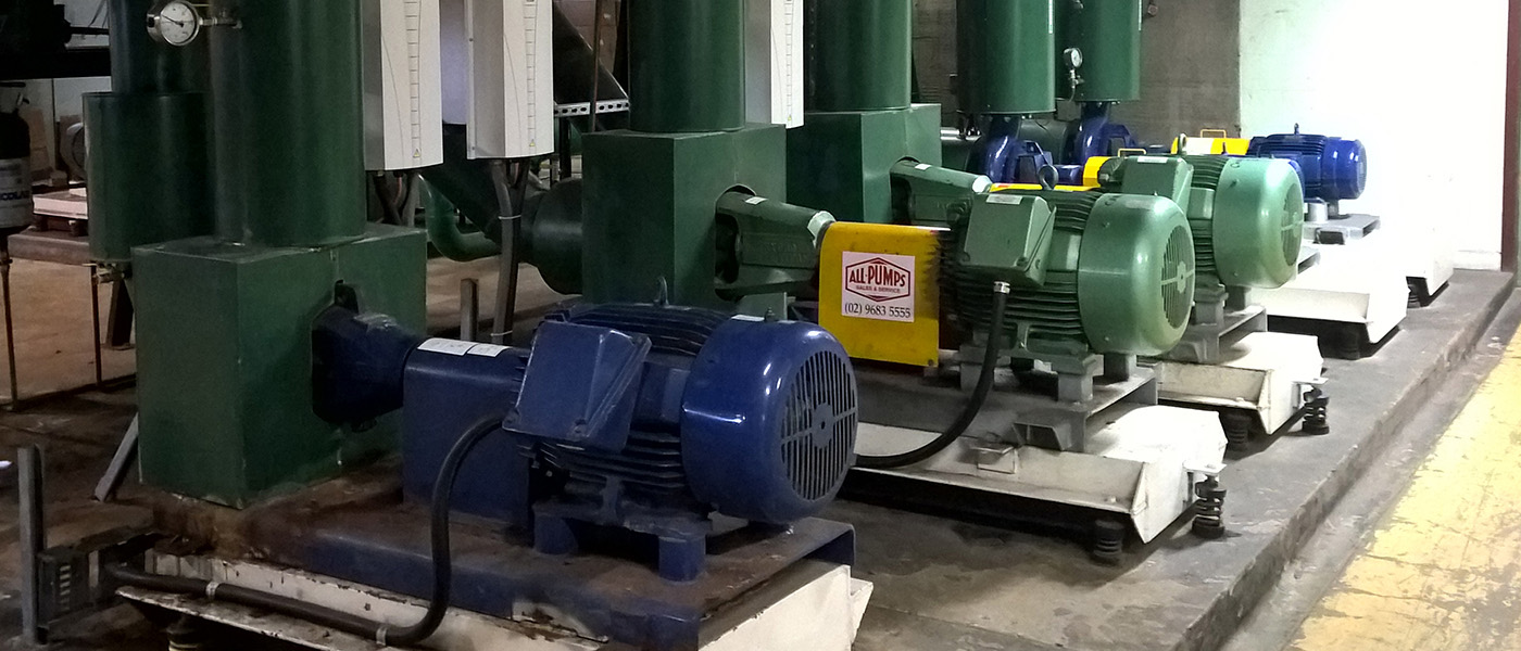 Building automation of main plant including condenser water pumps