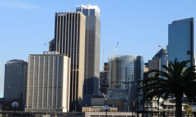 Sydney city Building Commercial Property Skyline