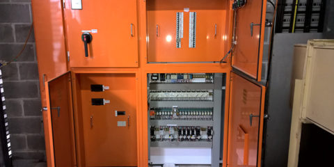 Mechanical HVAC Electrical Switchboard