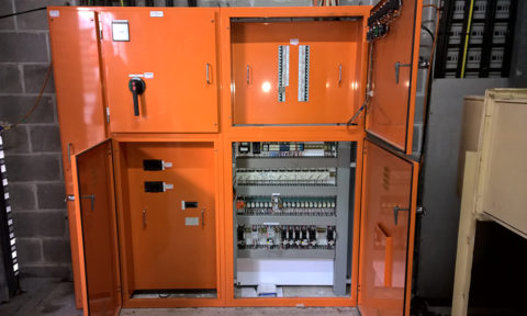 Mechanical HVAC Electrical Switchboard