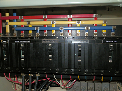 Circuit breakers for electrical isolation