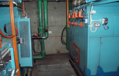 Main plant maintenance technical services for Air Handling Unit in independant plant room