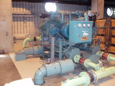 Industrial main plant maintenance