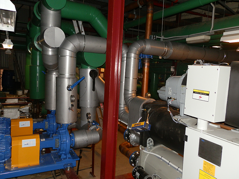 HVAC Main Plant maintenance