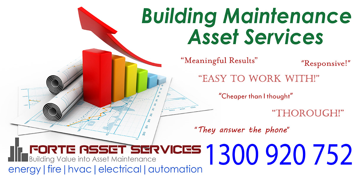 Forte asset Services media banner for our technical services in commercial buildings