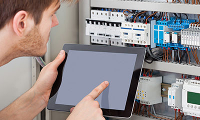 Building Management system integration into mechanical switchboard