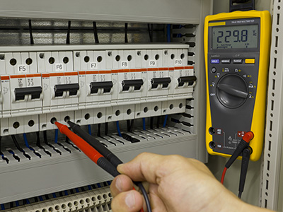 Single Source Service programmed maintenance and repairs for electrical switchboard integration with mechanical systems