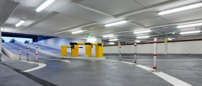 Car park LED lighting supply, installation and maintenance