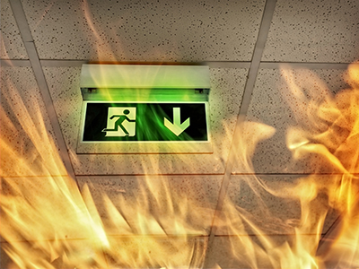 emergency exit lights repairs and six monthly maintenance