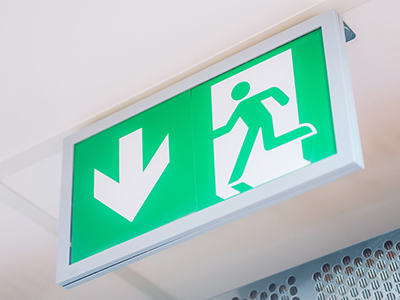 emergency lighting for residential apartment blocks