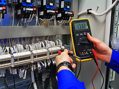 Forte Electrical fault finding a HVAC mechanical controls switchboard in Sydney