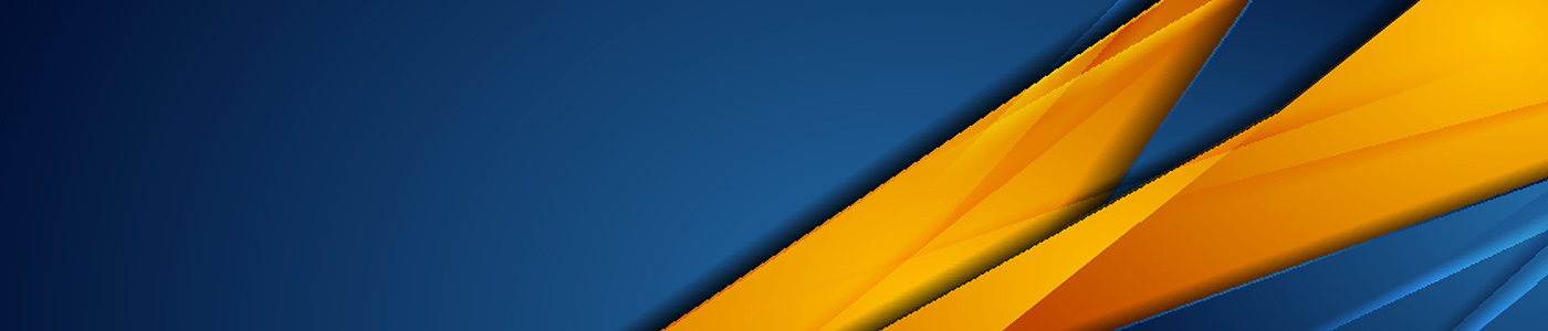 Building Operations | Forte Background Banner in blue and yellow